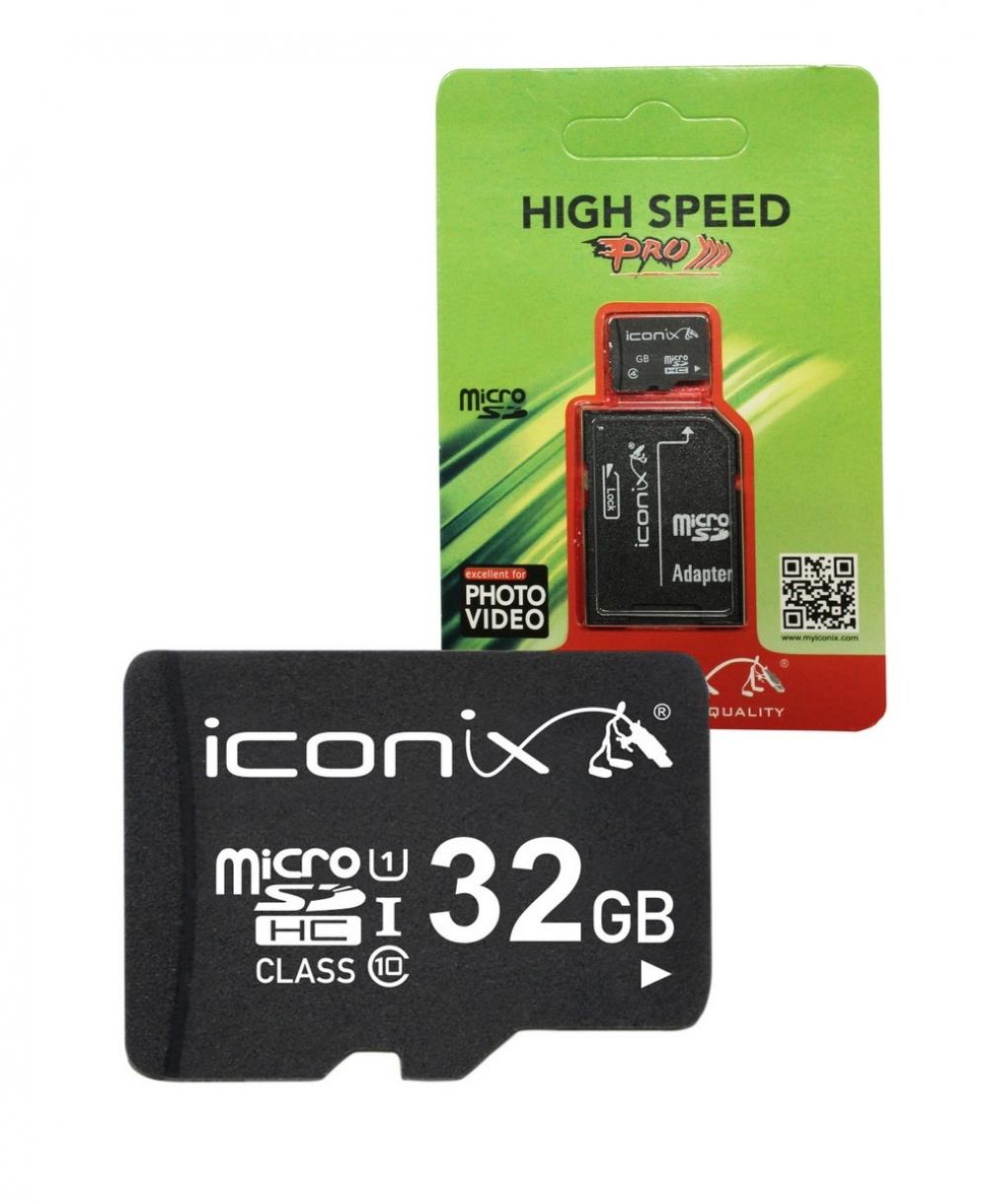 32 ГБ 10класс ICONIX с переходником