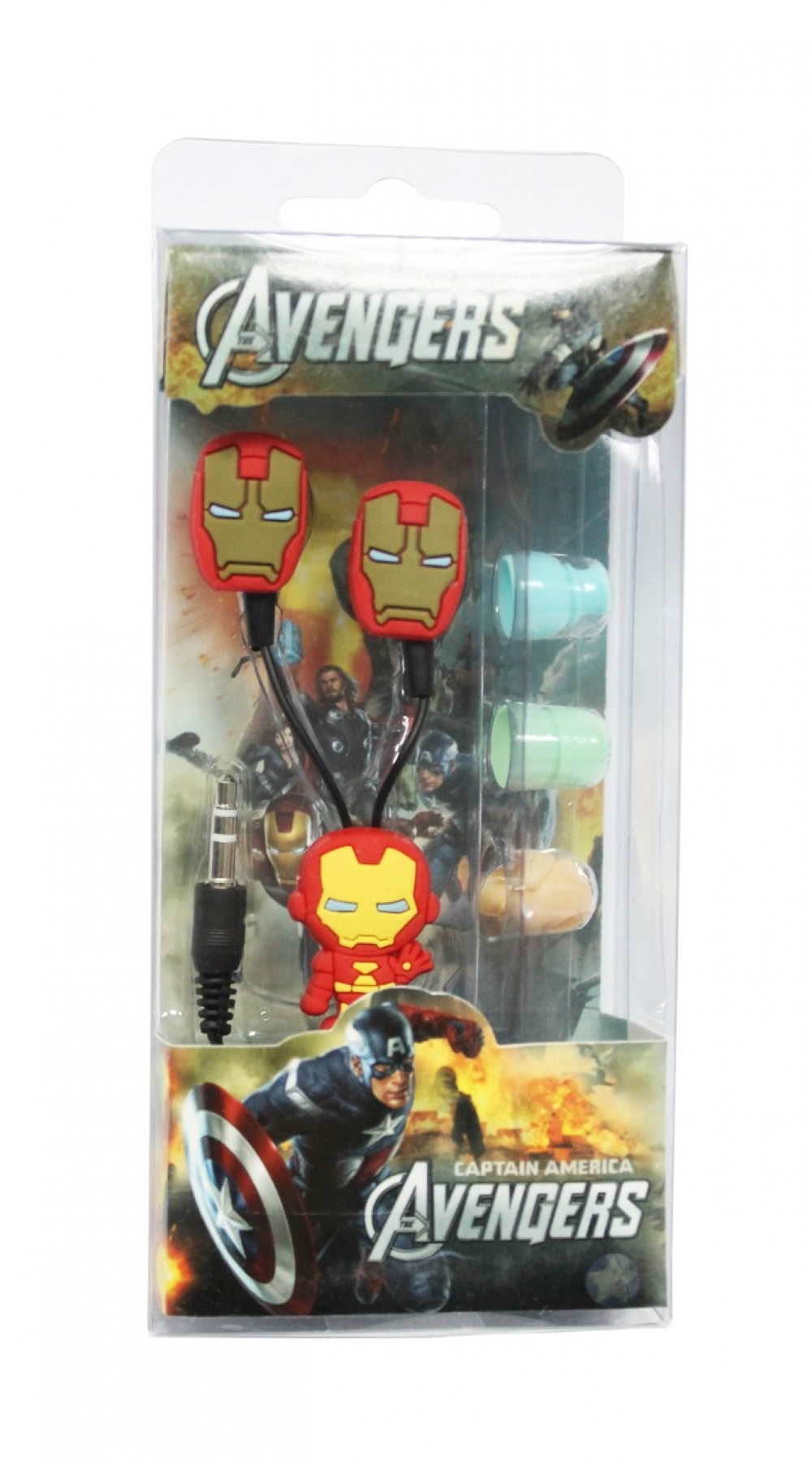 Наушники mp3 вакуум Iron Man