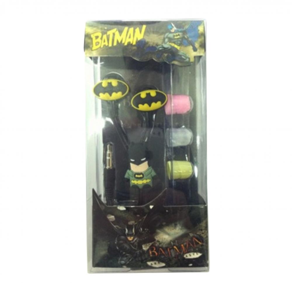 Наушники mp3 вакуум Batman