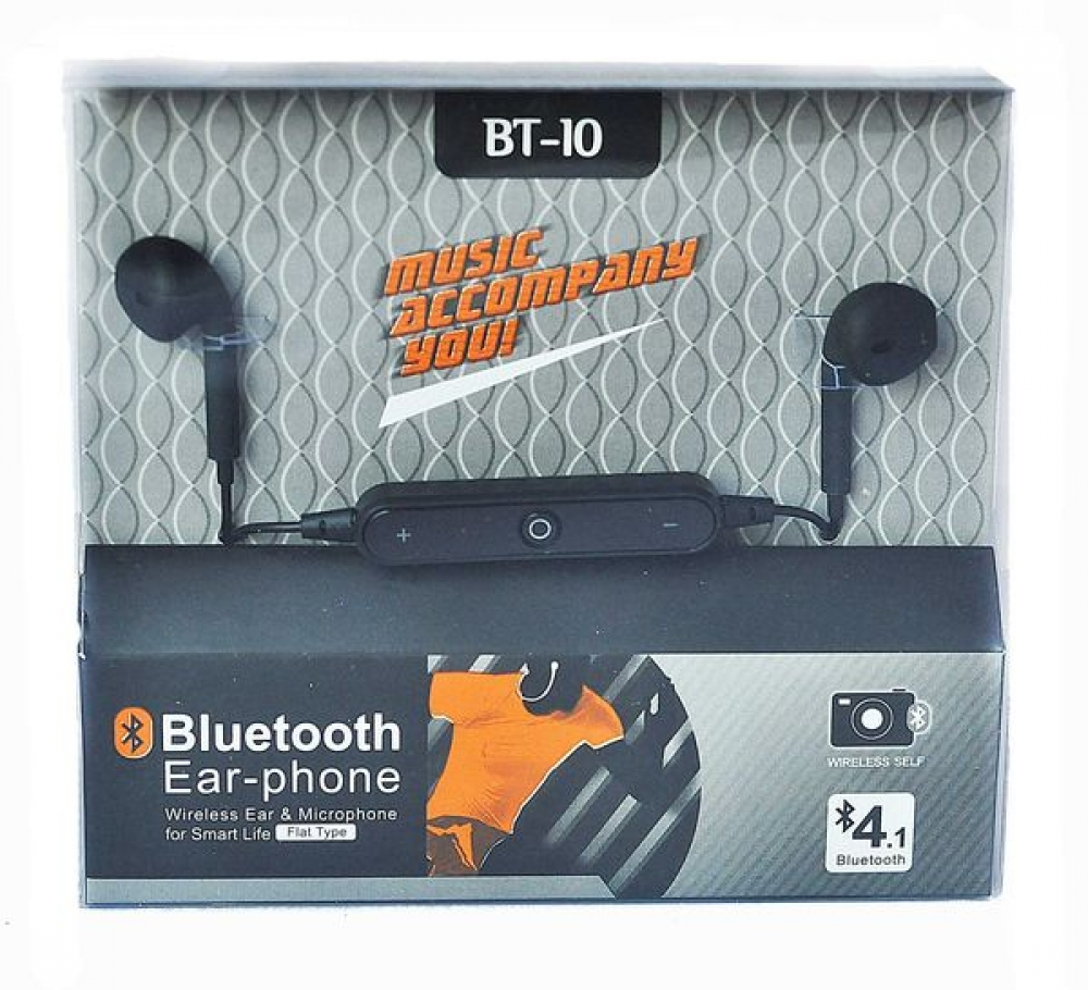 Наушники Bluethooth Stereo BT- 10