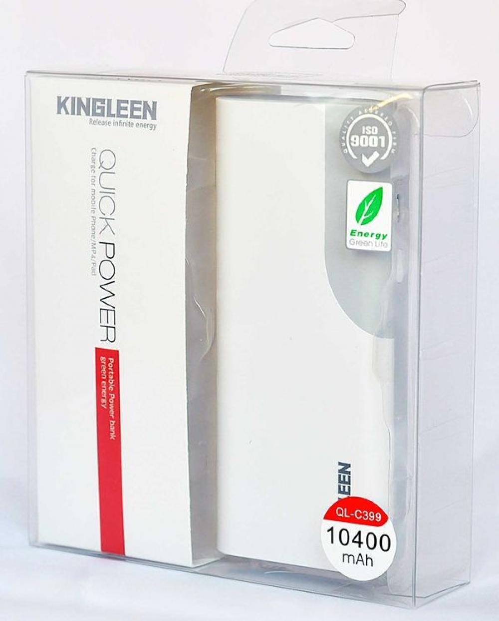 Внешний аккумулятор KINGLEEN 10400 mah (100%)
