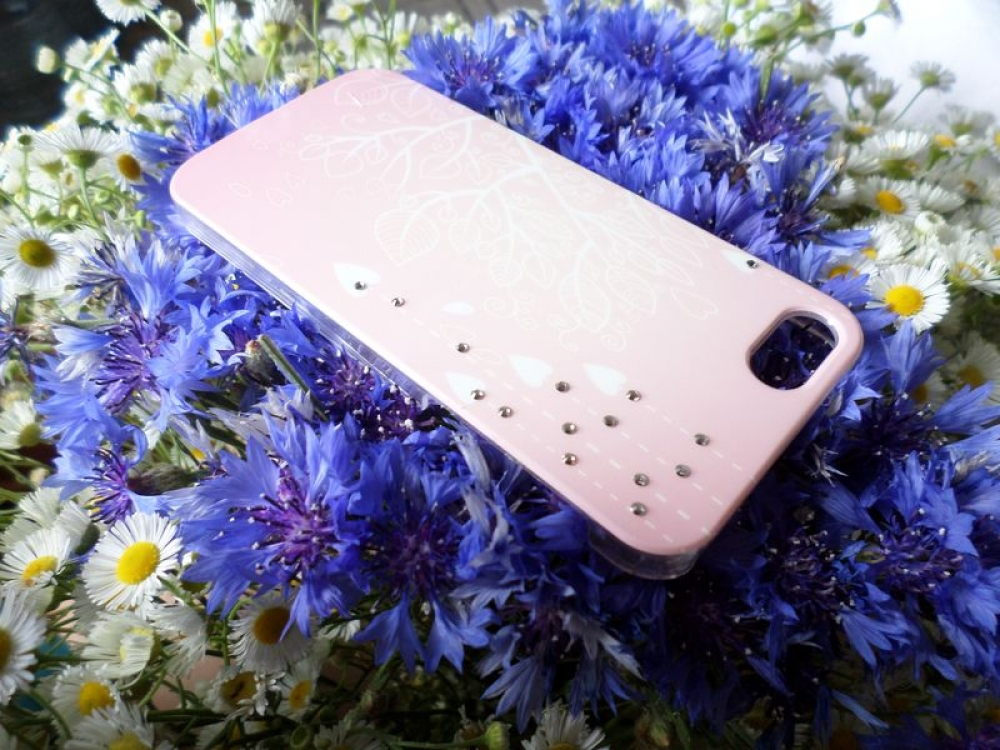 Крышка JOYROOM Luminous series Swarovski for iPhone5