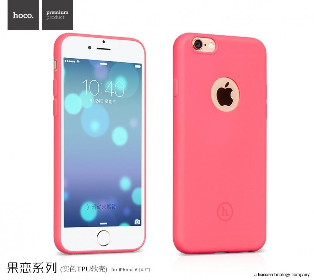 Чехол задняя крышка TPU HOCO Juice для iPhone 6/6S