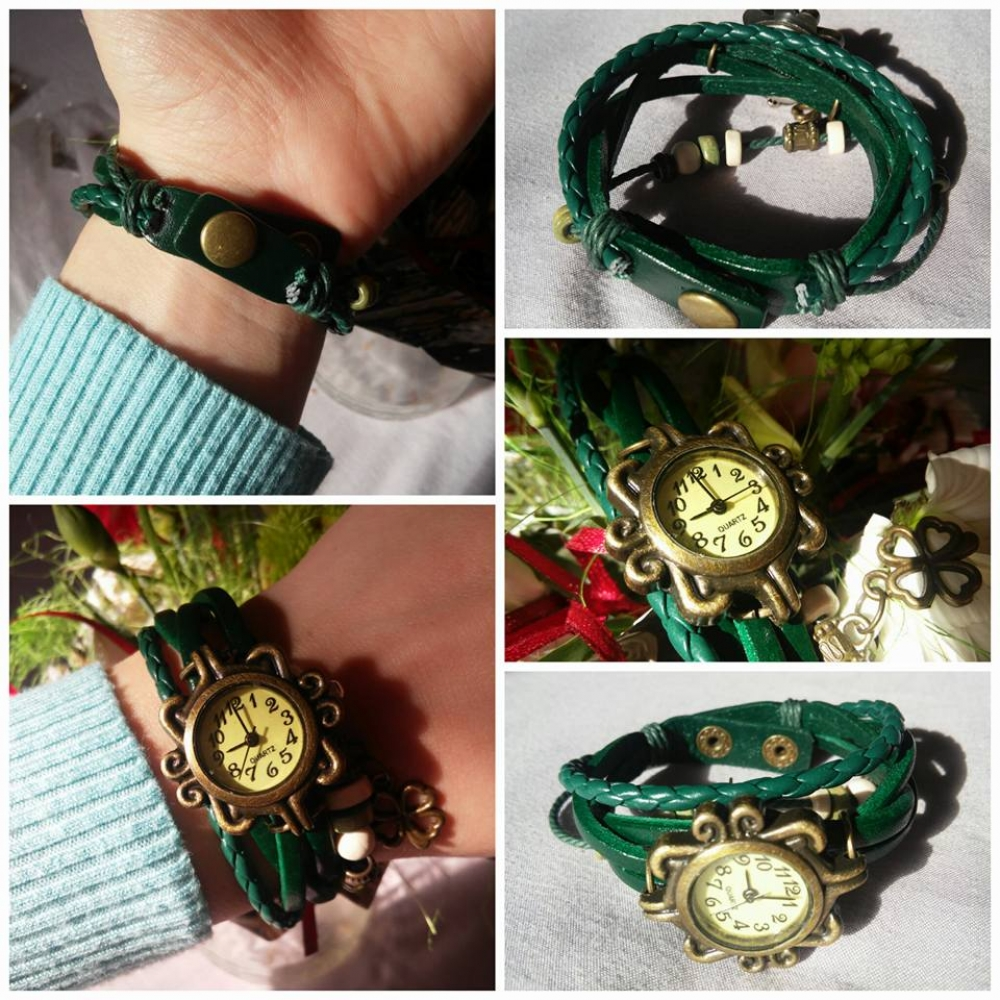 Женские наручные часы в старинном стиле