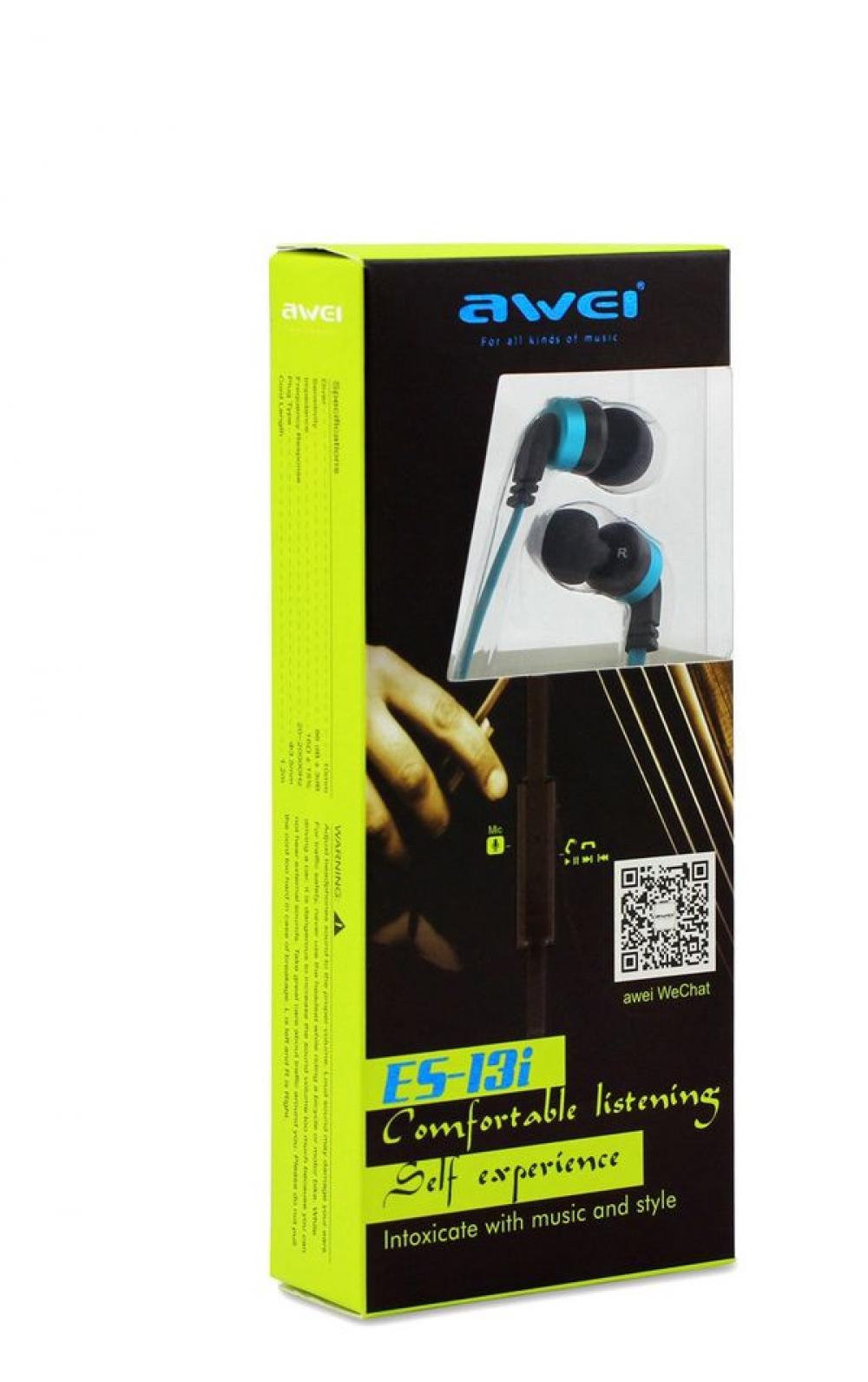 Наушники AWEI ES-13i