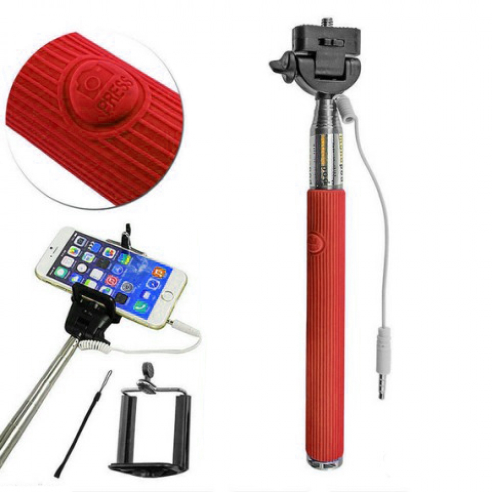 Monopod with cable
