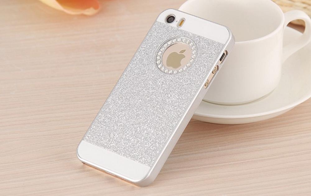 Чехол-крышка для Iphone 5, 5S со стразами