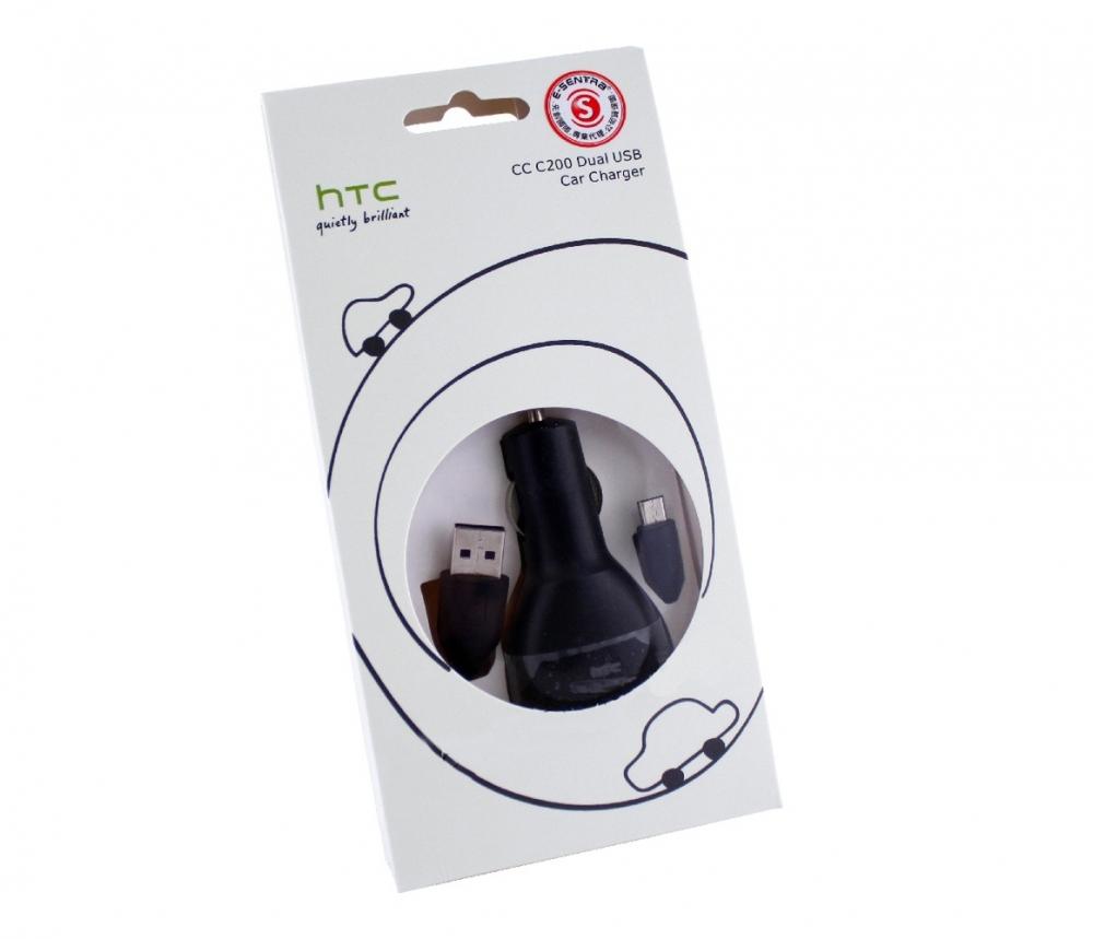 Автомобильное зарядное  HTC CC C200 (micro USB)