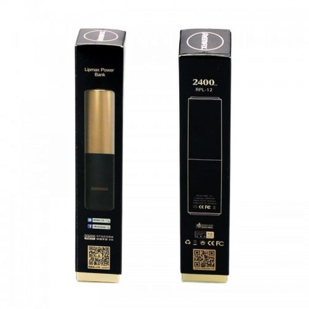 Внешний аккумулятор Remax Lip Max 2400 mAh