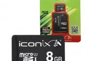 8 ГБ 4класс ICONIX с переходником