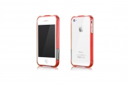Bumpers More  iPhone 4/4S Color Gem Lucent Red