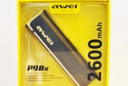 Внешний аккумулятор Awei P90k 2600