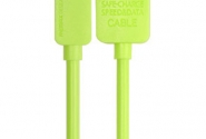 Кабель Remax Light iPhone5/6 1,5m green