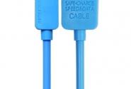 Кабель Remax Light iPhone5/6 1m blue