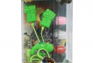 Наушники mp3 вакуум Hulk