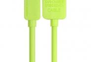 Кабель Remax Light iPhone5/6 1m green