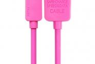 Кабель Remax Light iPhone5/6 1m pink