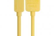 Кабель Remax Light iPhone5/6 1m yellow